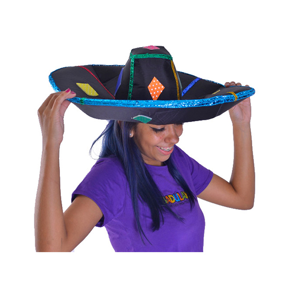 Chapéu Sombrero Mexicano Acoplado