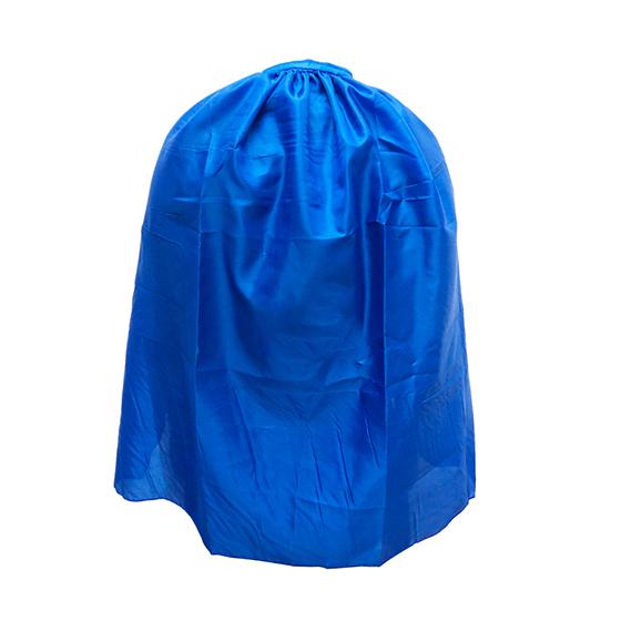 Capa Infantil sem Gola Azul