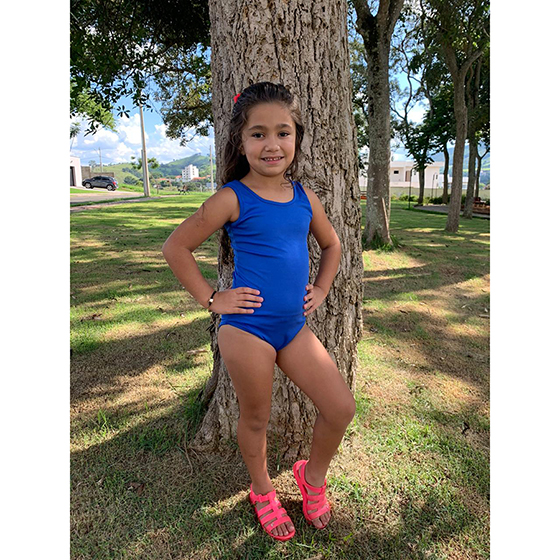 Collant BDK Infantil Azul Royal Ref. 268A