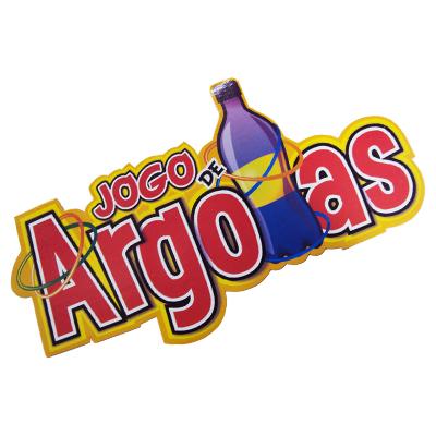 Plaquinha Decorativa Jogo de Argolas
