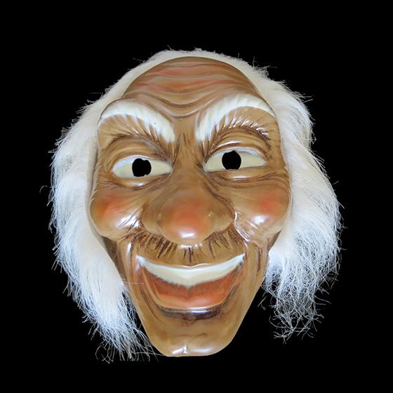 Máscara Monstro com Cabelo Modelo 4