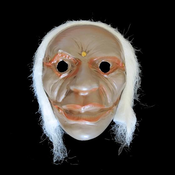 Máscara Monstro com Cabelo Modelo 5