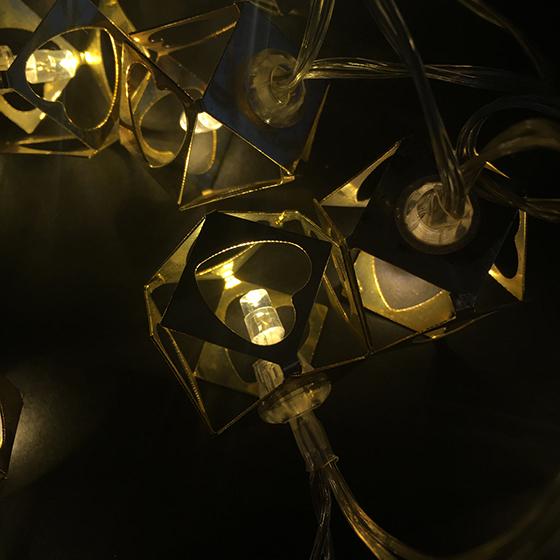 Varal Luminária Decorativa de Led - 1,20 metros