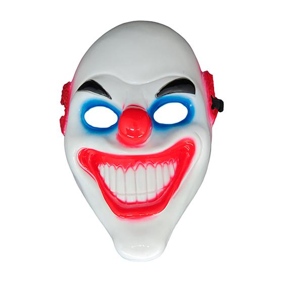 Máscara Palhaço Olho Azul Halloween