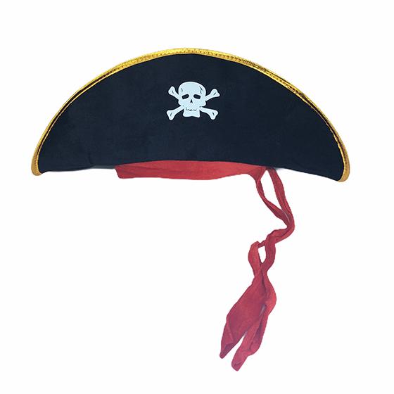 Chapéu Pirata Luxo Unissex