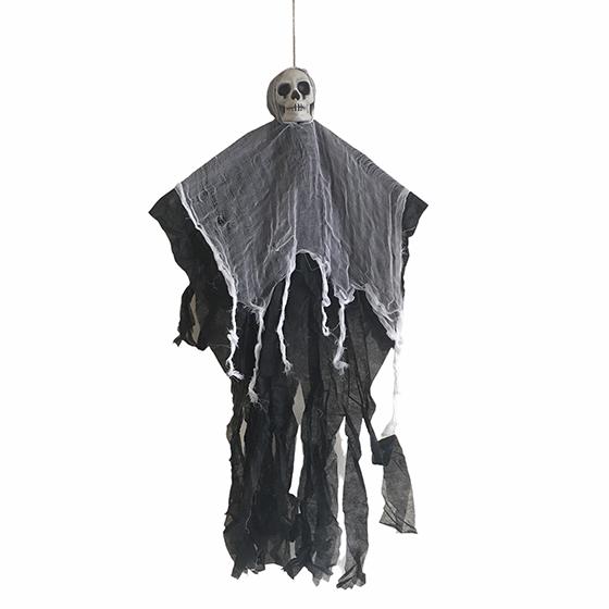 Enfeite Halloween Esqueleto Retalhos