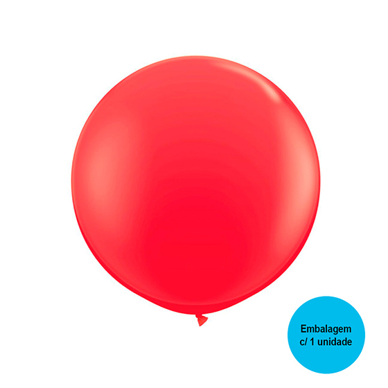 Balão Festball Big Vermelho