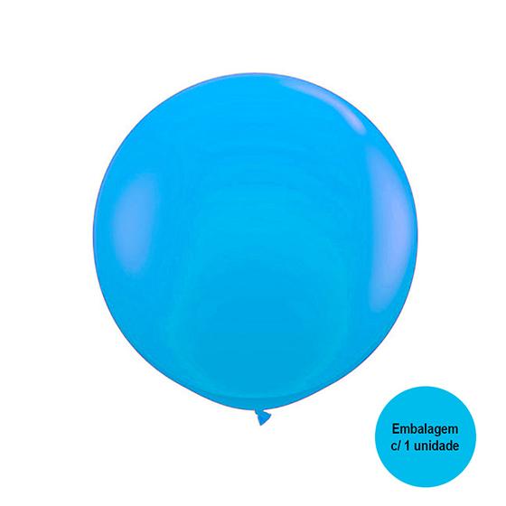 Balão Festball Big Azul Claro