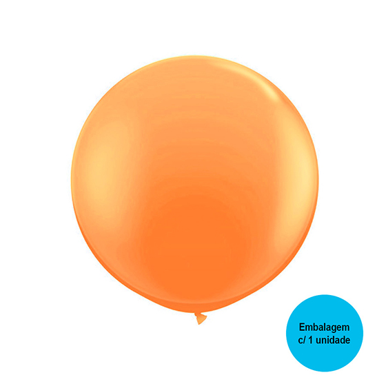 Balão Festball Big Laranja