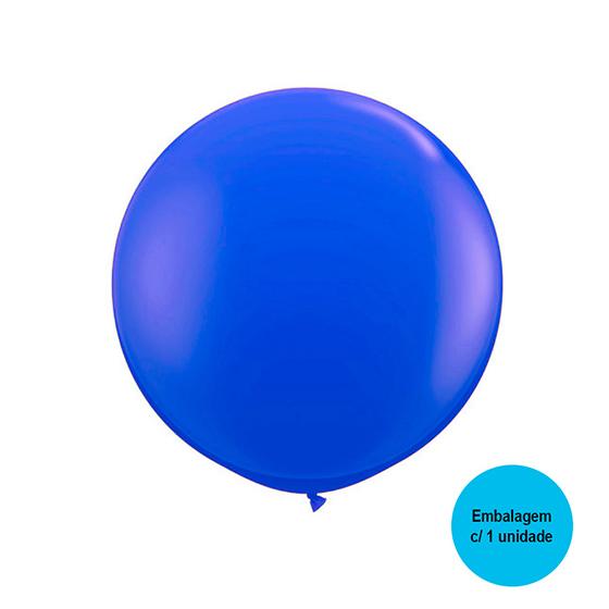 Balão Festball Big Azul Escuro