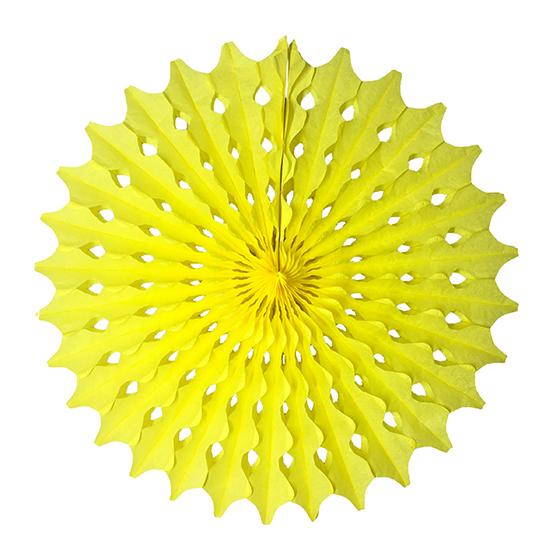 Guirlanda Redonda Amarela 500 mm