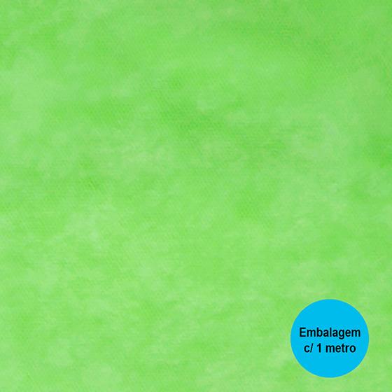 TNT Liso Verde Claro - 1 metro