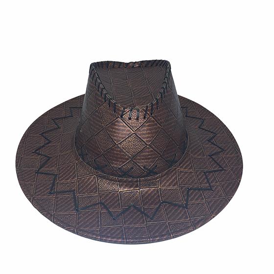 Chapéu Cowboy Luxo Couro Sintético