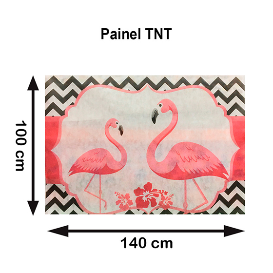 Painel TNT Flamingo