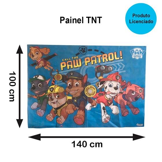Painel TNT Patrulha Canina (Paw Patrol)