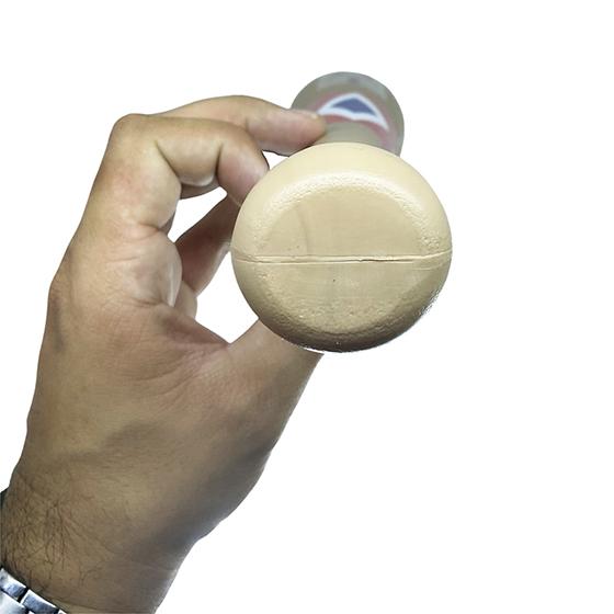 Taco de Baseball Plástico Bege Fantasia Arlequina Envio Imediato