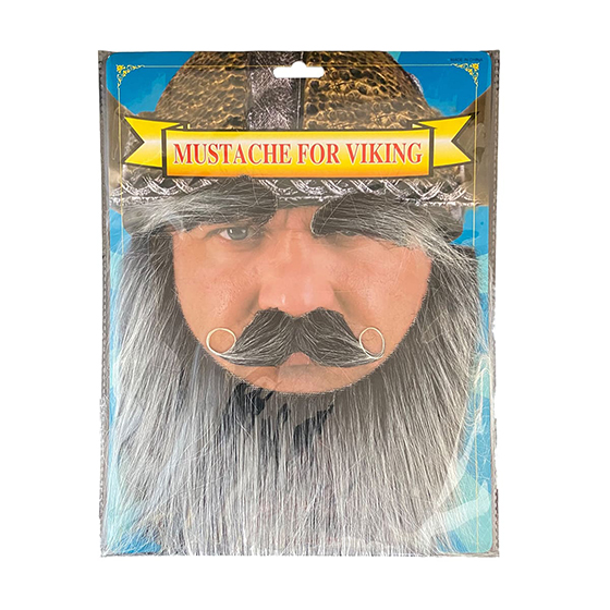 Kit Barba Bigode e Sobrancelha Viking