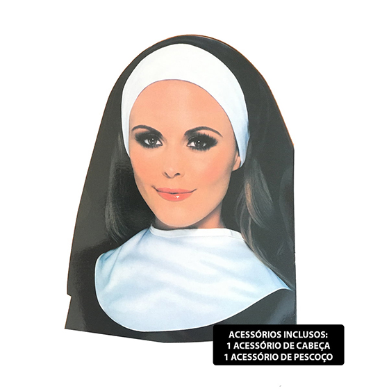 Kit para Fantasia Freira Mulher