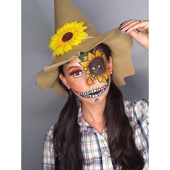 Chapéu Espantalho Festa Junina Halloween Cosplay
