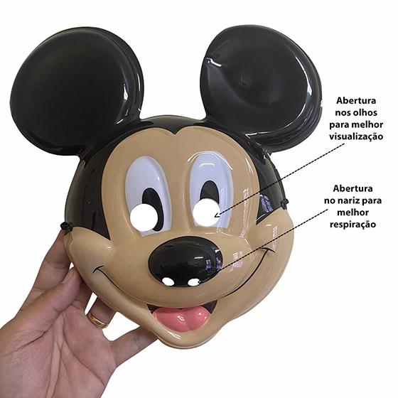 Máscara Rosto Mickey