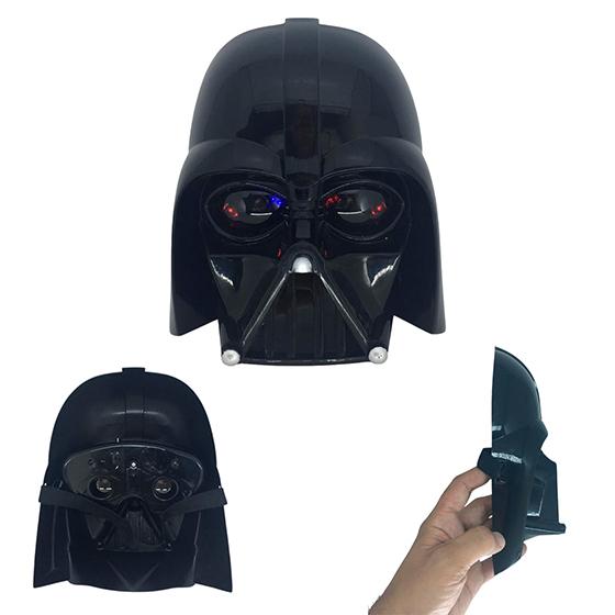 Máscara Dark Preta com Luz Star Wars Pronta Entrega
