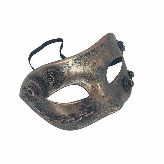 Máscara Steampunk Bronze