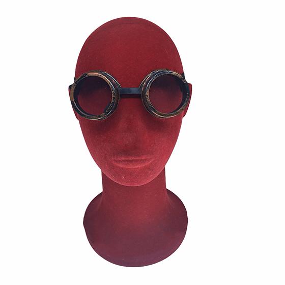 Óculos Aviador Cosplay Vintage Steampunk Goggles
