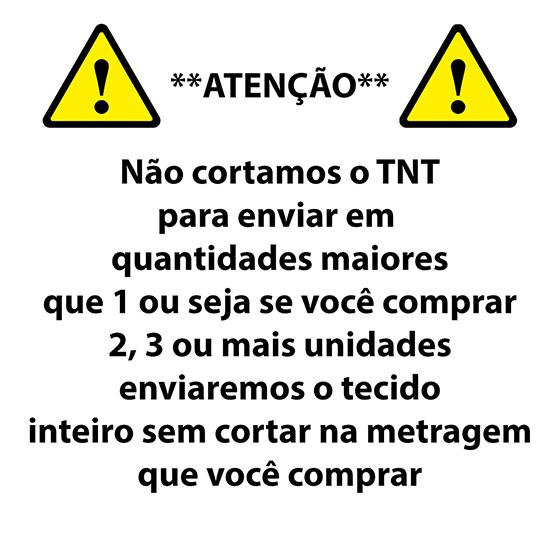 TNT Estampado Branco com Bolas Azuis - 1 metro