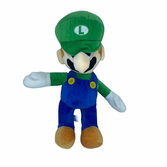 Encanador Luigi em Pelúcia Quentinho Fofinho Macio