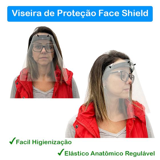 Viseira de Proteção Face Shield