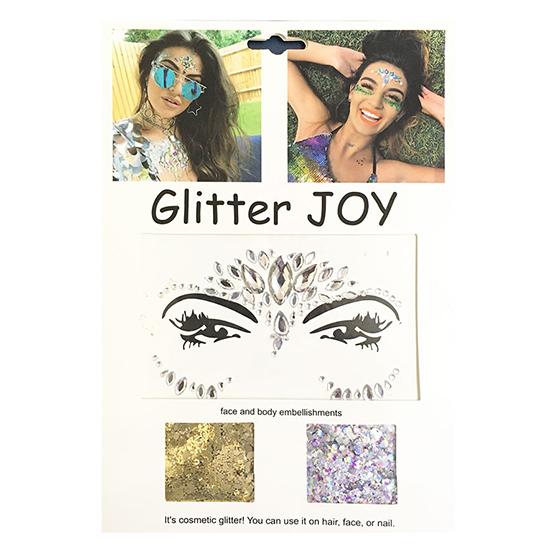 Glitter Joy para Rosto Carnaval Festa Sortidos