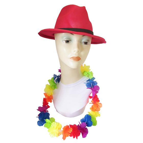 Colar Havaiano Multicolor