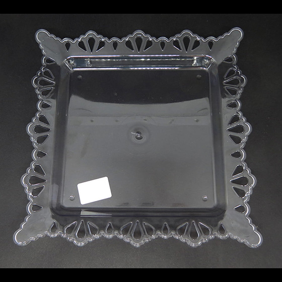 Bandeja Luxo sem Base Transparente