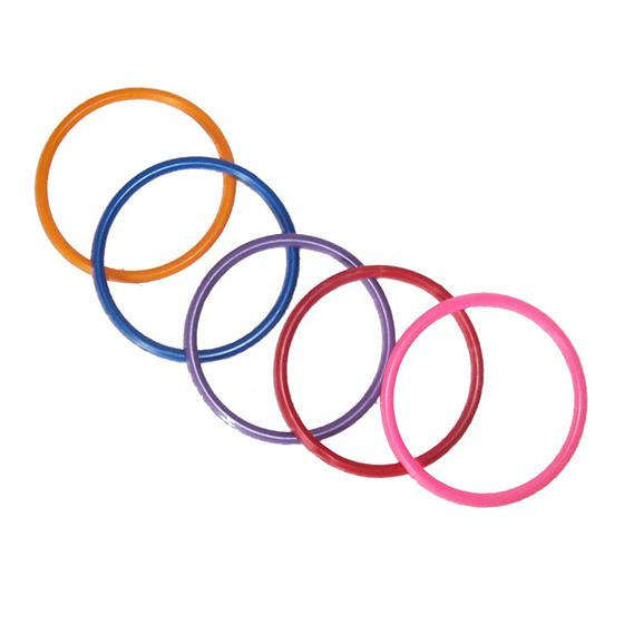 Argolas Coloridas - 10 unidades