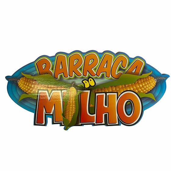 Plaquinha Decorativa Barraca do Milho