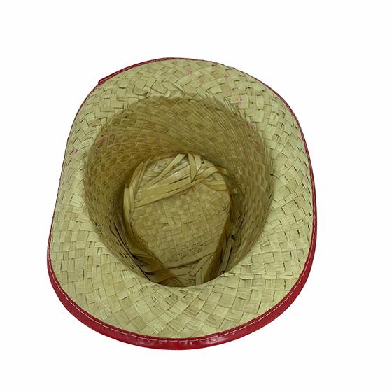 Chapéu de Palha Infantil Malandrinho