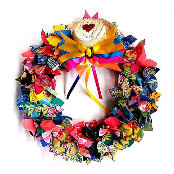 Guirlanda para Decoração de Festa Junina - Direto da Fábrica