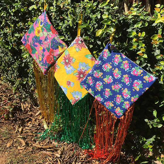 Pipa Decoração de Festa Junina Kit com 3