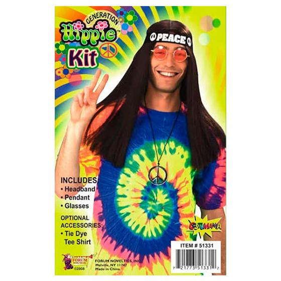 Kit Hippie Azul - 3 peças