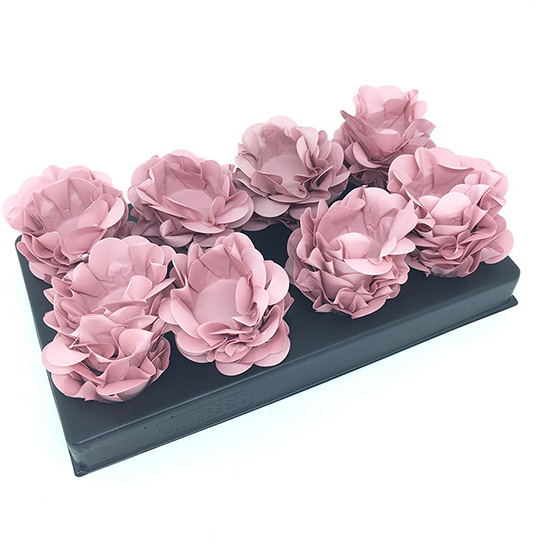 Forminha para Doces Style Rosa Chanel - 40 unidades