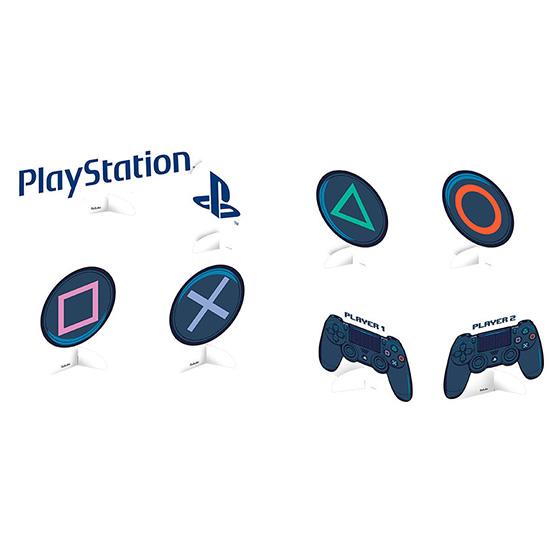 Decoração de Mesa Playstation - 8 unidades