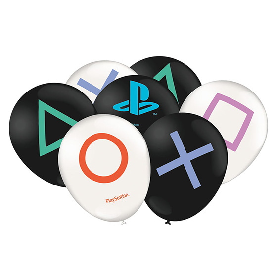 Balão Playstation 9'' - 25 unidades