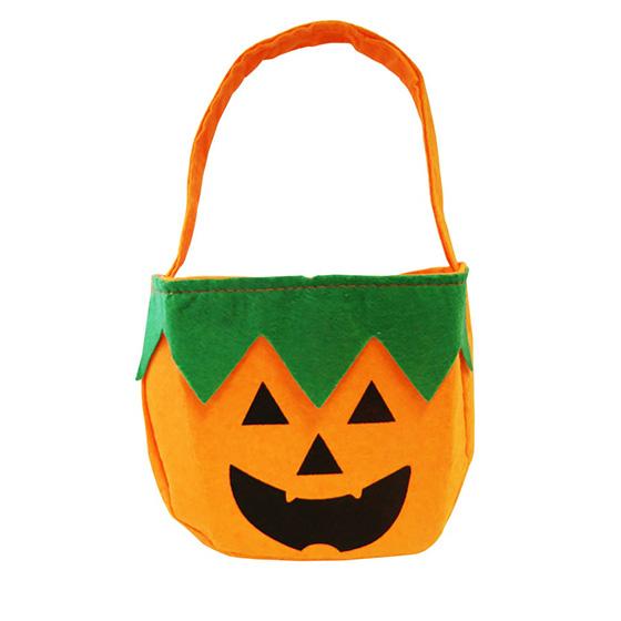 Bolsinha Abóbora Halloween