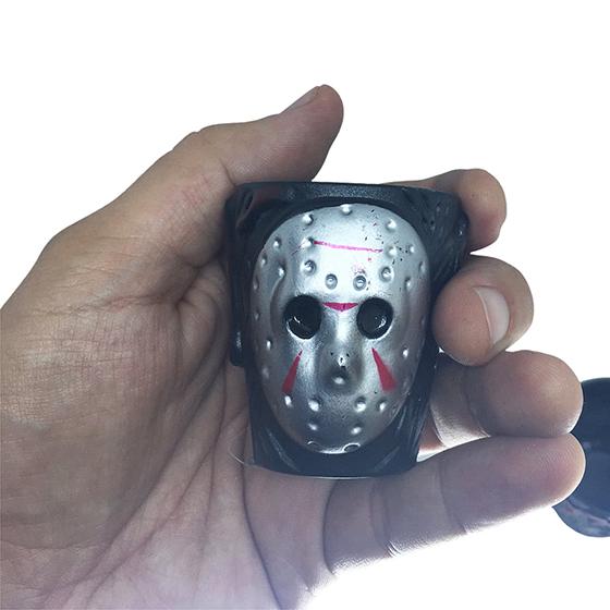 Mini Copo Shot Jason Halloween - 2 unidades