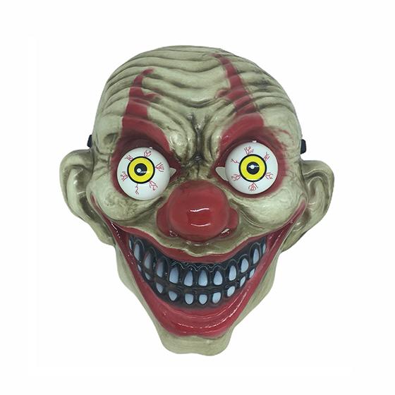 Máscara Olho Esbugalhado Halloween Modelo 1 Palhaço