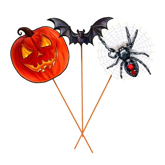 Palito Halloween - 10 unidades