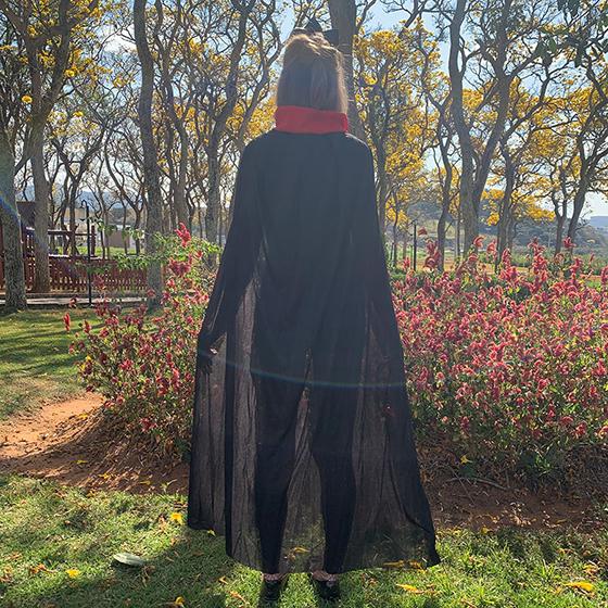 Capa de Vampiro 140 cm Halloween