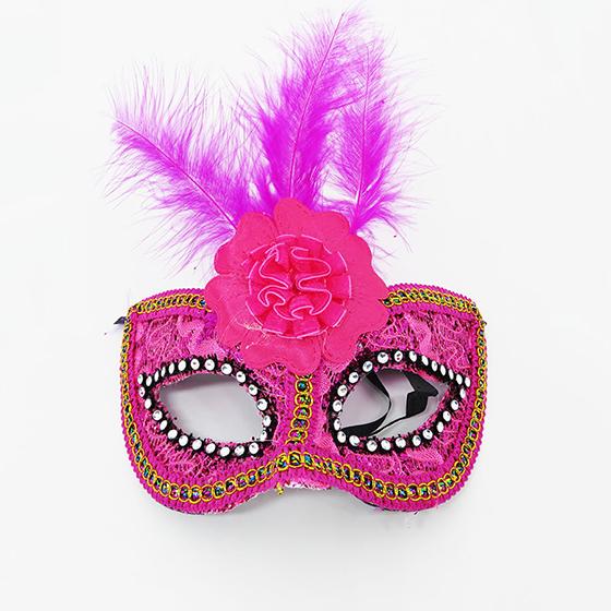 Máscara Flor Central Pink