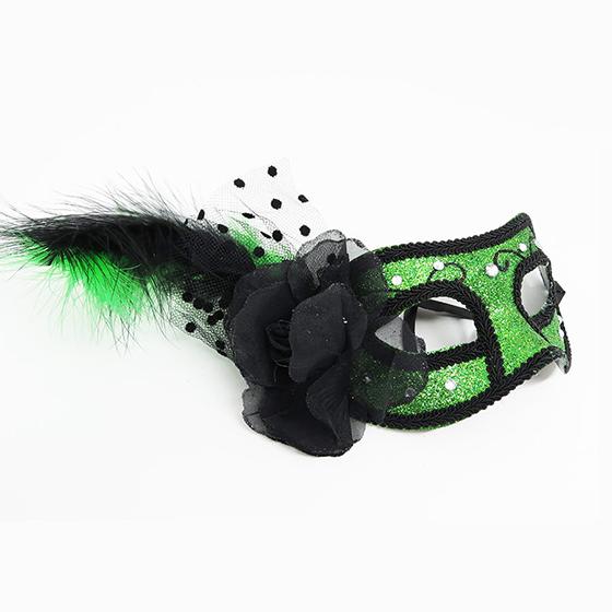 Máscara Glitter Verde