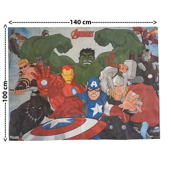 Painel TNT Licenciado Avengers Vingadores